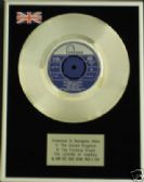 "DAVE DEE DOZY BEAKY-- 7"" Platinum Disc LEGEND OF XANADU"